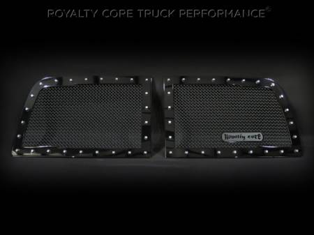 2500/3500/4500 - 2010-2012 - Royalty Core - Dodge Ram 2500/3500/4500 2010-2012 RC1 Classic Grille 2 Piece