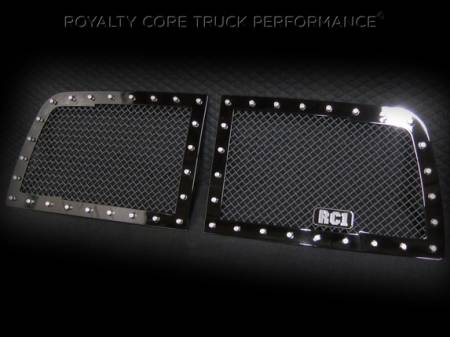 Royalty Core - Dodge Ram 2500/3500/4500 2010-2012 RC1 Classic Grille 2 Piece - Image 3