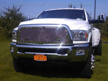 Royalty Core - Dodge Ram 2500/3500/4500 2010-2012 RC1 Classic Grille Chrome - Image 3