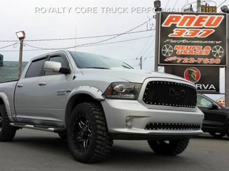 Royalty Core - Dodge Ram 2500/3500 2010-2012 RC2 Main Grille Twin Mesh with Goat Skull Logo - Image 5