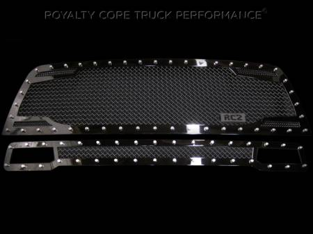 Grilles - RC2 - Royalty Core - Dodge Ram 2500/3500 2010-2012 RC2 Main Grille Twin Mesh & Bumper Grille Package