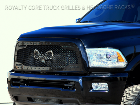 Royalty Core - Dodge Ram 2500/3500 2013-2018 RC2 Main Grille Twin Mesh with Goat Skull Logo - Image 6