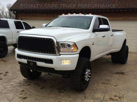 2500/3500/4500 - 2013-2017 - Royalty Core - Dodge Ram 2500/3500/ 2013-2017 RC2 Main Grille Twin Mesh & Bumper Grille Package