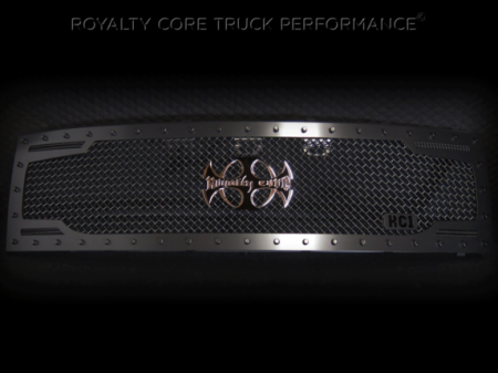 Raptor - 2009-2015 Raptor Grilles - Royalty Core - Ford Raptor 2009-2015 RC2 Full Grille Replacement with Center Emblem
