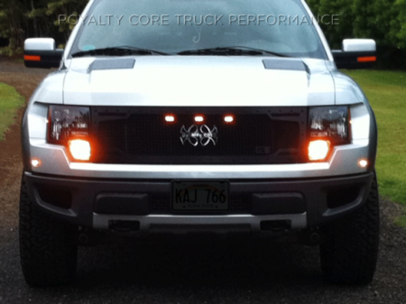 Royalty Core - Ford Raptor 2009-2015 RC2 Full Grille Replacement with Center Emblem - Image 2