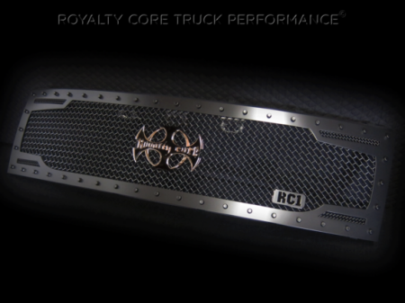 Royalty Core - Ford Raptor 2009-2015 RC2 Full Grille Replacement with Center Emblem - Image 3