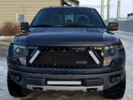 Royalty Core - Ford Raptor 2009-2015 RCX Explosive Dual LED Grille - Image 3
