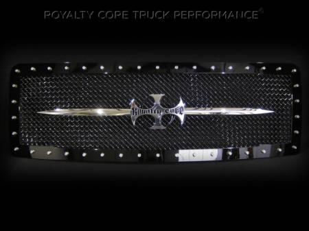 Royalty Core - Ford F-150 2009-2012 RC1 Main Grille with Chrome Sword Assembly - Image 2