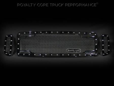 Excursion - 1999-2004 - Royalty Core - Ford SuperDuty 1999-2004 RC2 Twin Mesh 3 Piece Grille