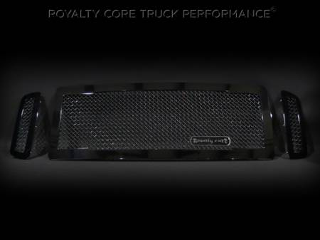 SuperDuty - 2005-2007 - Royalty Core - Ford SuperDuty 2005-2007 RC1 Main Grille 3 Piece No Studs-Smooth Look
