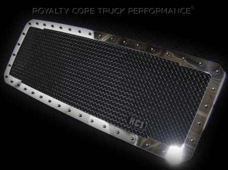 SuperDuty - 2005-2007 - Royalty Core - Ford SuperDuty 2005-2007 RC1 Classic Grille Chrome