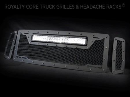 Royalty Core - Ford Super Duty 2005-2007 RCRX LED Race Line Grille-Top Mount LED - Image 2