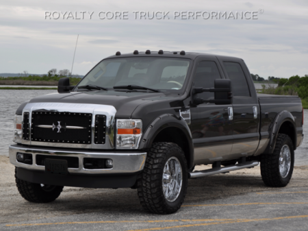 Royalty Core - Ford Super Duty 2005-2007 RC1 Main Grille 3 Piece with Chrome Sword Assembly - Image 4