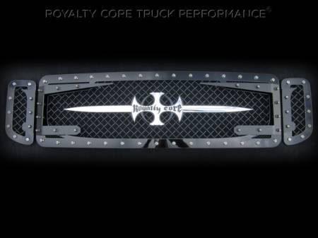 Royalty Core - Ford Super Duty 2005-2007 RC3DX Innovative Grille - Image 3