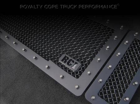 Royalty Core - Ford Super Duty 2008-2010 RC1 Main Grille 3 Piece Satin Black - Image 5