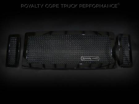 SuperDuty - 2008-2010 - Royalty Core - Ford SuperDuty 2008-2010 RC1 Main Grille 3 Piece No Studs-Smooth Look