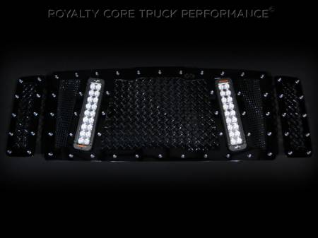 Excursion - 2008-2010 Excursion Grilles - Royalty Core - Ford Super Duty 2008-2010 RCX Explosive Dual LED Grille