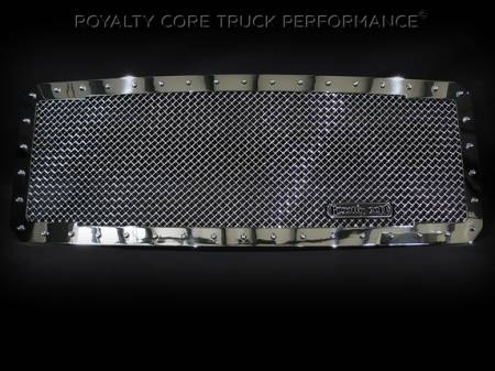 Super Duty - 2011-2016 Super Duty Grilles - Royalty Core - Ford Super Duty 2011-2016 RC1 Classic Grille Chrome