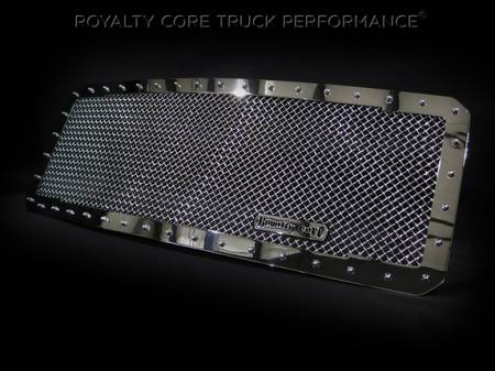 Royalty Core - Ford Super Duty 2011-2016 RC1 Classic Grille Chrome - Image 2