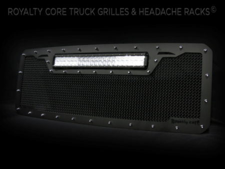 Grilles - RCRXT - Royalty Core - Ford SuperDuty 2011-2016 RCRX LED Race Line Grille-Top Mount LED