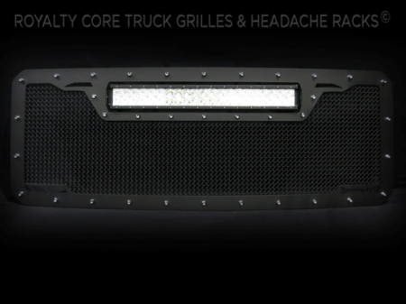 Royalty Core - Ford Super Duty 2011-2016 RCRX LED Race Line Grille-Top Mount LED - Image 3