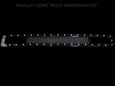 Royalty Core - Ford Super Duty 2011-2016 RC1 Main Grille with Matching Bumper Grille Package - Image 3