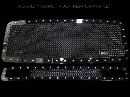 Royalty Core - Ford Super Duty 2011-2016 RC1 Main Grille with Matching Bumper Grille Package
