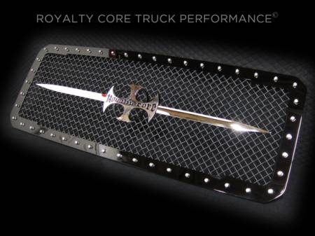Royalty Core - Ford Super Duty 2011-2016 RC1 Main Grille with Sword Assembly - Image 4