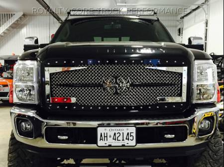 Grilles - RC3DX - Royalty Core - Ford SuperDuty 2017+ RC3DX Innovative Full Grille Replacement