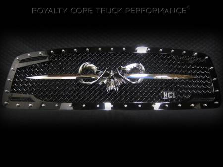 Emblems - Royalty Core - Speared Goat Skull