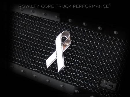 Emblems - Royalty Core - Cancer Awareness Ribbon
