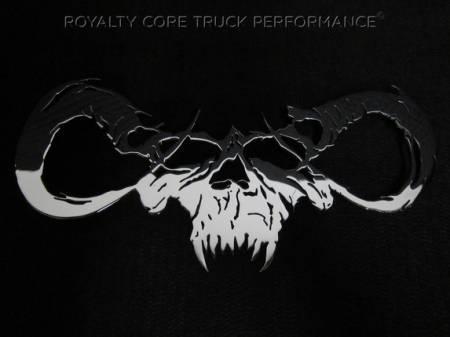 Emblems - Royalty Core - Goat Skull Chrome