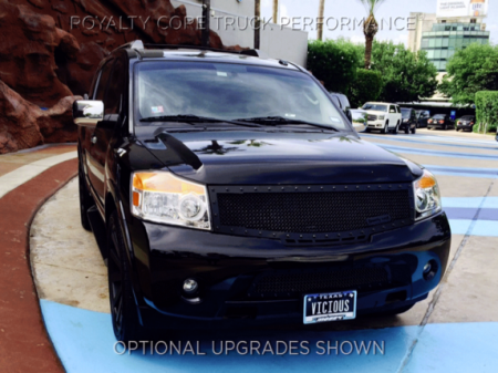 Royalty Core - Nissan Armada 2008-2016 Full Grille Replacement RC1 Classic Grille - Image 4