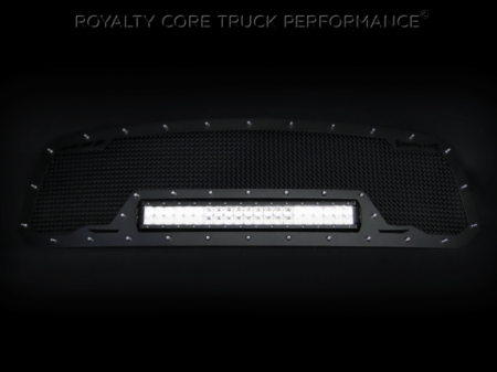 Grilles - RCRXB - Royalty Core - Nissan Titan 2016-2018 RCRX LED Race Line Grille