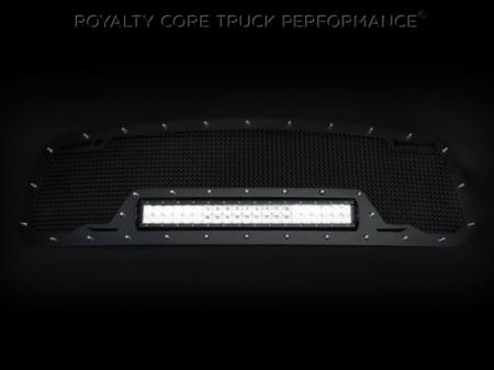 Titan - 2016+ Titan Grilles - Royalty Core - Nissan Titan 2016-2018 RCRX LED Race Line Grille