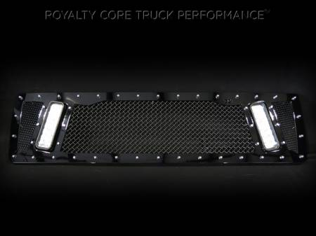 Top Kick - 2003-2009 Top Kick Grilles - Royalty Core - GMC 4500/5500/6500/7500 2003-2009 Topkick Kodiak RCX Explosive Dual LED Grille