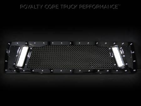 Top Kick - 2003-2009 - Royalty Core - GMC 4500/5500/6500/7500 2003-2009 Topkick Kodiak RCX Explosive Dual LED Grille