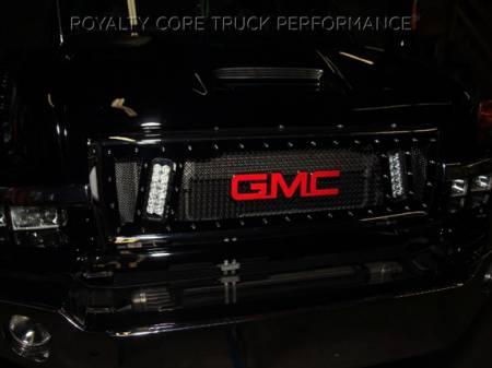 Royalty Core - GMC 4500/5500/6500/7500 2003-2009 Topkick Kodiak RCX Explosive Dual LED Grille - Image 3