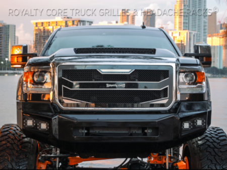 Meyer's - GMC Sierra HD 2500/3500 2015-2019 RC4 Layered Grille - Image 5