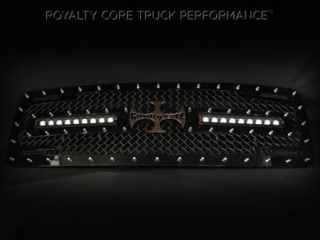 2500/3500 Denali - 2015-2018 - Royalty Core - GMC Sierra HD 2500/3500 2015-2018 RC2X X-Treme Dual LED Grille
