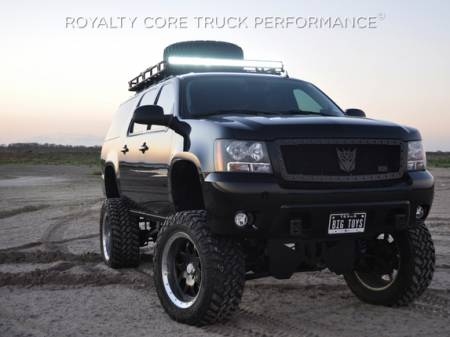 Royalty Core - Chevrolet Suburban, Tahoe, Avalanche 2007-2014 RC1 Classic Grille Satin Black - Image 2