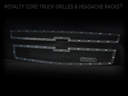 Royalty Core - Chevrolet Suburban & Tahoe 2015-2018 RCR 2-PC Race Line Grille - Image 3