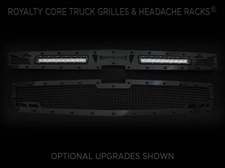 Grilles - RCRXT - Royalty Core - Chevrolet Suburban-Tahoe-Avalanche 2015-2016 RCRX LED Race Grille-Top Mount LED