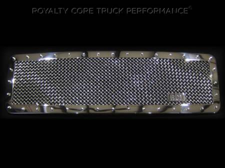 Grilles - RC1 - Royalty Core - Chevrolet 1500 2014-2015 RC1 Classic Grille Chrome (NON Z71)