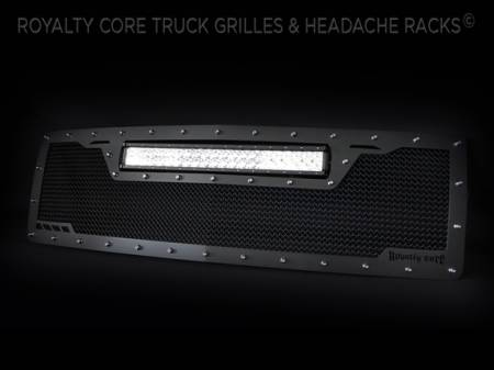 Royalty Core - Chevrolet 1500 Z71 2014-2015 RCRX LED Race Line Grille-Top Mount LED - Image 2