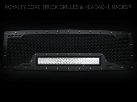 Grilles - RCRXB - Royalty Core - Chevrolet 1500 2014-2015 RCRX LED Race Line Grille