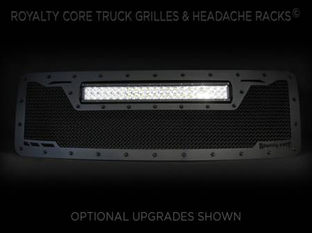 Grilles - RCRXT - Royalty Core - Ford F-150 2013-2014 RCRX LED Race Line Grille-Top Mounted LED