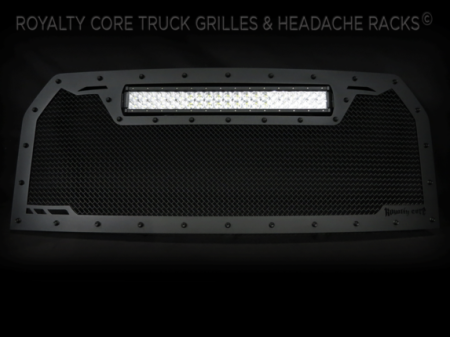 Grilles - RCRXT - Royalty Core - Ford F-150 2015-2017 RCRX LED Race Line Full Grille Replacement-Top Mount LED