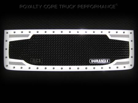 2500/3500 Sierra - 2007-2010 2500 & 3500 Sierra Grilles - Royalty Core - GMC Sierra 2500/3500 HD 2007-2010 RC2 Main Grille Factory Color Match with Badge