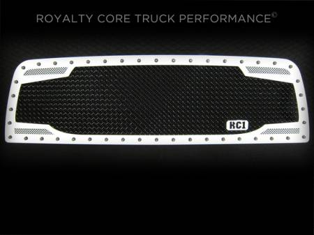 Grilles - RC2 - Royalty Core - Chevrolet 2500/3500 2007-2010 RC2 Full Grille Replacement Factory Color Match